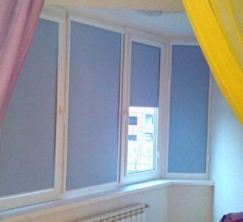 Рулонные шторы UNI 2 (blackout) ночные шторы