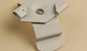 Кронштейн Армстронг деталь для крепления вертикальных жалюзи к потолку типа