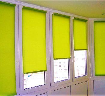 Рулонные шторы MINI открытого типа