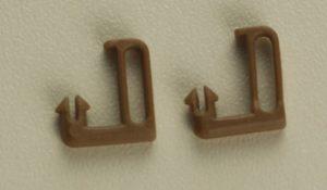 Направляющая лески скрытая (коричневая) для рулонной шторы