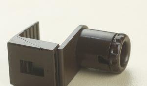 Кронштейн нижний для боковой фиксации рулонных жалюзи Зебра