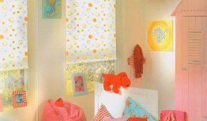 Жалюзи и рулонные шторы в детскую комнату